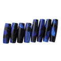 Black with Blue Aristocrat Pen Blank and Tube