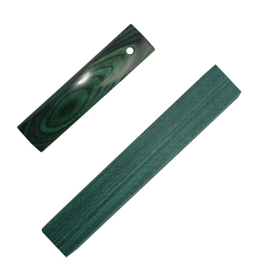 Color Wood Emerald