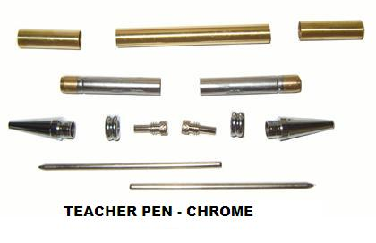 Teacher Pen Kit - Chrome