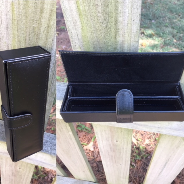 Double Leather Pen box