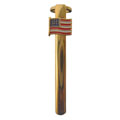 USA Flag Clip Gold