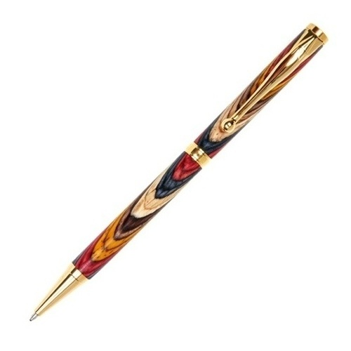 Titanium Gold Fancy Pen